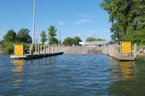 Lake St. Clair DNR Launch - Dock Status