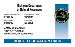 michigan boating card